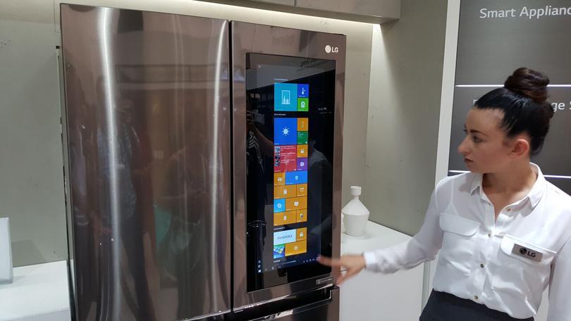 Image result for lg smart refrigerator