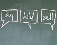 buy-hold-sell-blackboard