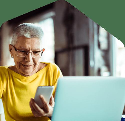 homeowner reviewing rental application