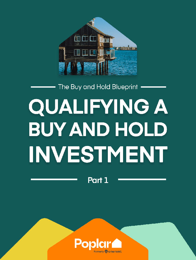 qualifying a buy and hold investment book cover