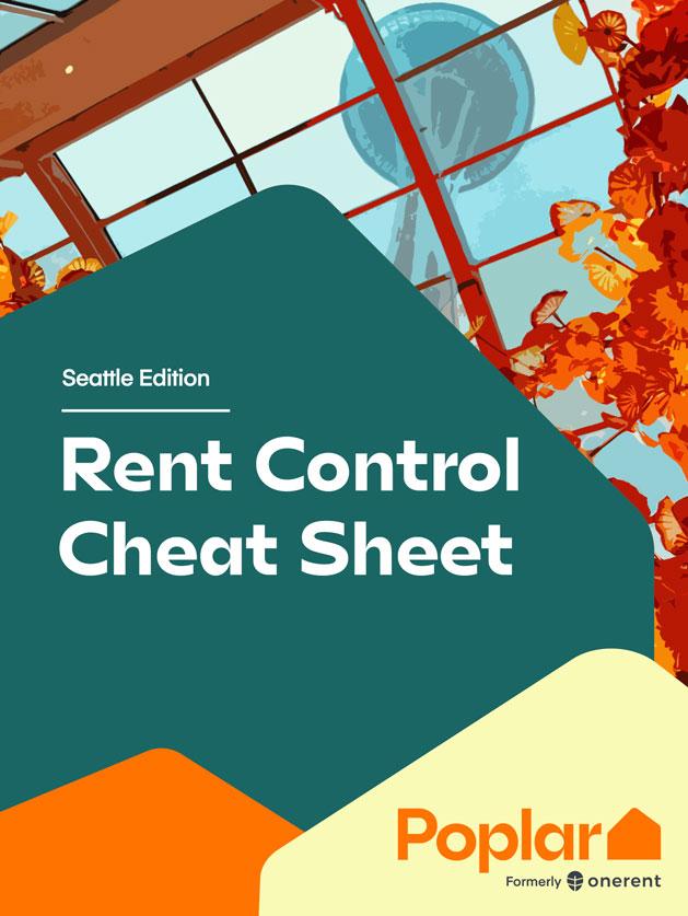 Seattle Rent Control Cheat Sheet