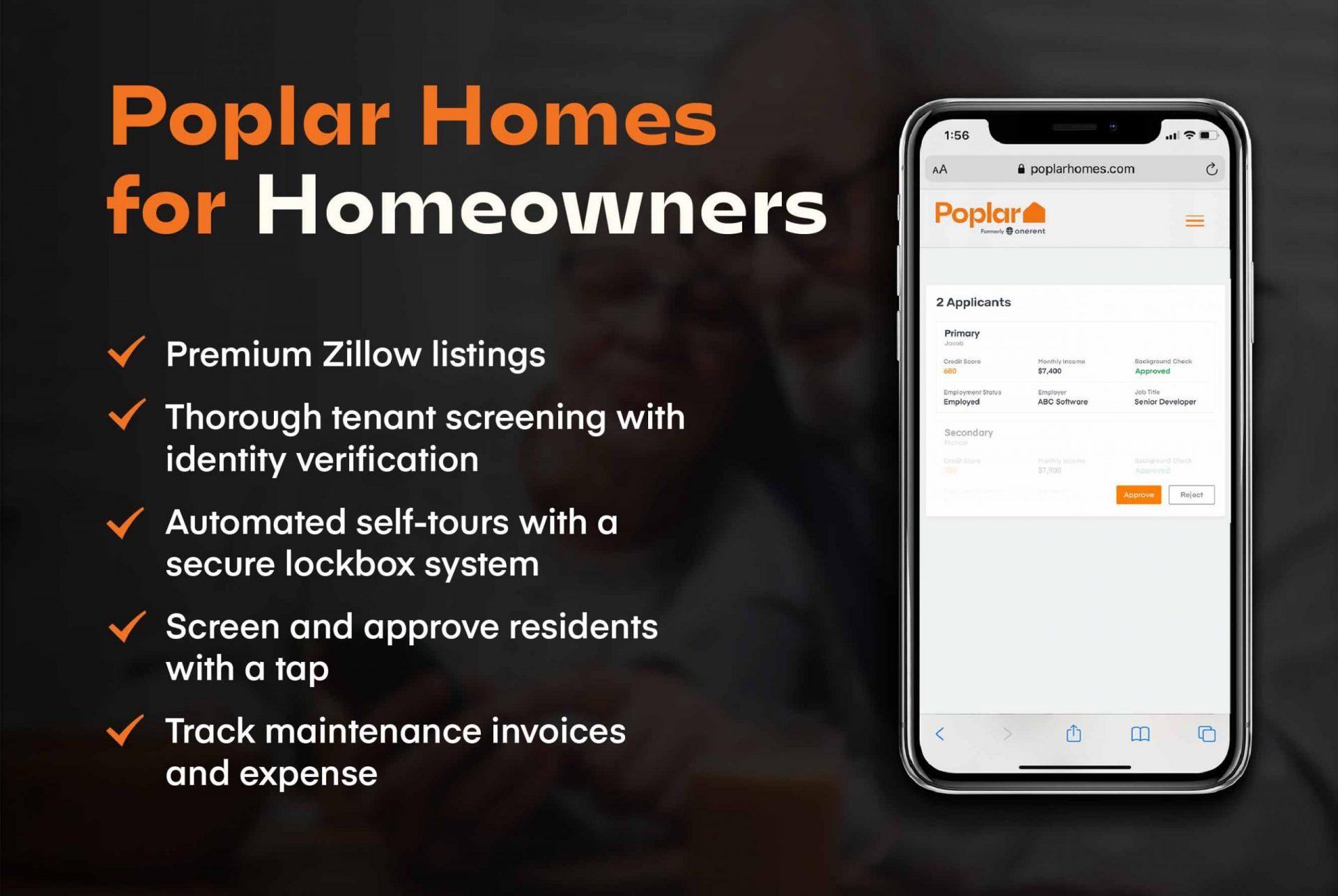 poplar homes for homesowners
